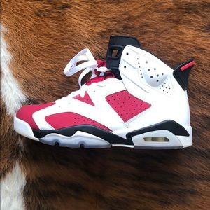 Air Jordan 6 Carmine size 8